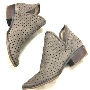 Lucky Brand Women's Perforated Ankle Booties
